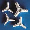 Переходники Kartell для трубок, Y-образные, 120°, полипропилен, фото 2