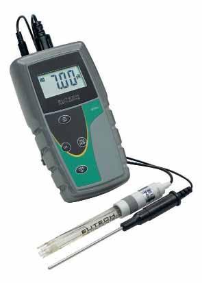 PH/мВ/°C метр pH6+/pH5+ серий Eutech