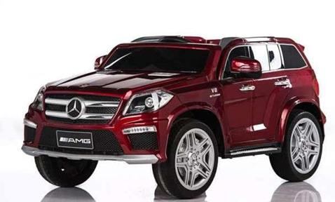 Электромобиль Mercedes Benz GL63 AMG (до 30 кг)