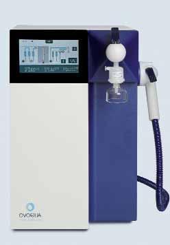 Системы получения ультрачистой воды Ultra Clear ™, с сенсорной панелью