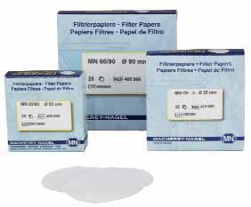 Стекловолоконные фильтры, тип MN 85/70 MACHEREY-NAGEL