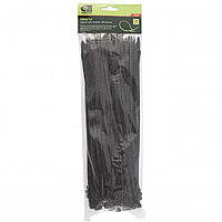Хомуты, 300 x 4,8 мм, пластиковые, черные, 100 шт Сибртех