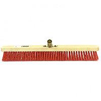 Щетка строительная 500 мм, 5 рядов, жесткая щетина, железная тулейка, без черенка Сибртех