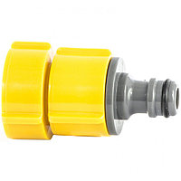 Адаптер пластмассовый, 1/2-3/4-1, внутренняя резьба, Luxe Palisad
