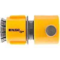 Соединитель пластмассовый, быстросъемный для шланга 1/2, Luxe Palisad, фото 1
