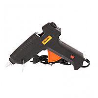 Клеевой пистолет с выключателем 12 мм в кейсе, 80 Вт, 6 г/мин Sparta