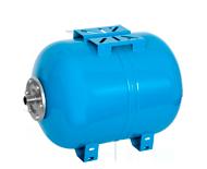 Горизонтальный расширительный мембранный бак для водоснабжения WESTER WAO, 80 литров