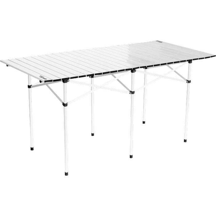 Стол складной алюминиевый, 1400 x 700 x 700 мм, Camping Palisad