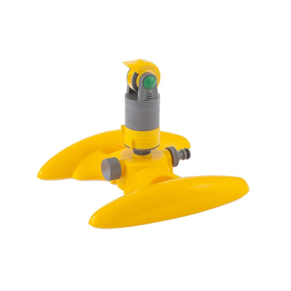 Дождеватель пластиковый, вращающийся, с регулировкой угла Palisad Luxe