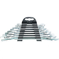 Набор ключей рожковых, 6 х 22 мм, 8 шт, хромированные Sparta