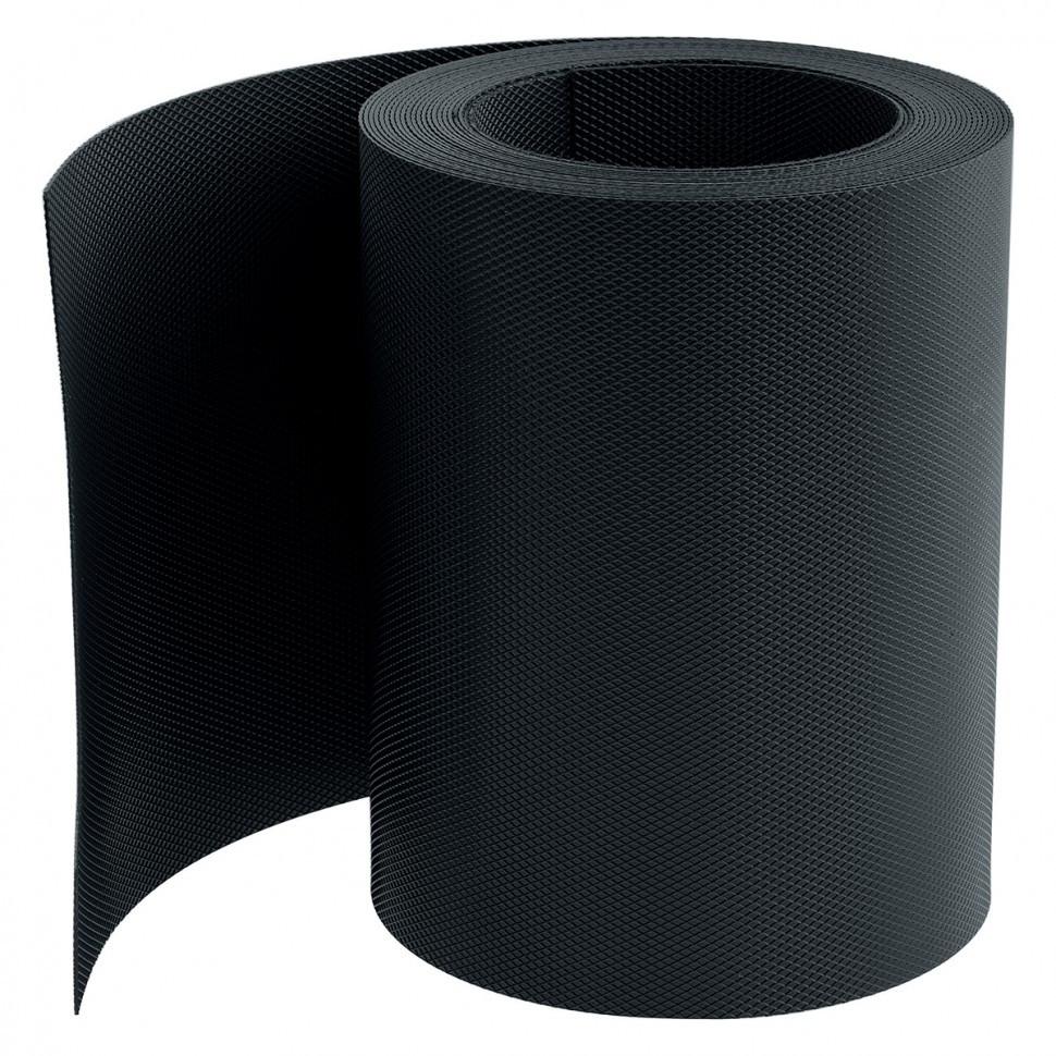 Бордюрная лента 20 x 900 см черная Россия Palisad