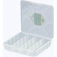 Органайзер универсальный средний, прозрачный матовый, 20 х 20 х 4,5 см Сибртех