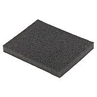 Губка для шлифования, 125 х 100 х 10 мм, мягкая, P 80 Matrix