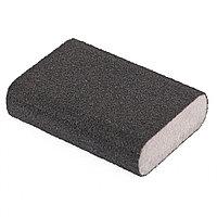 Губка для шлифования, 100 х 70 х 25 мм, овал, твердая, P 80 Matrix