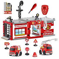Конструктор для мальчиков «Пожарная станция», фото 1