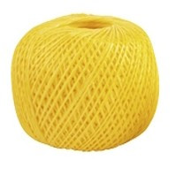 Шпагат полипропиленовый, желтый 60 м, 1200 текс Россия Сибртех