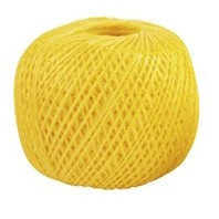 Шпагат полипропиленовый, желтый 110 м, 1200 текс Россия Сибртех