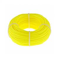 Леска строительная, 100 м, D 1 мм, цвет желтый Сибртех