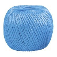 Шпагат полипропиленовый, синий 400 м, 1200 текс Россия Сибртех