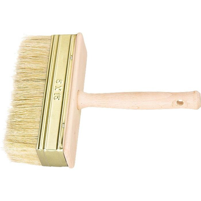 Кисть-ракля, 30 х 130 мм, натуральная щетина, деревянный корпус, деревянная ручка Россия