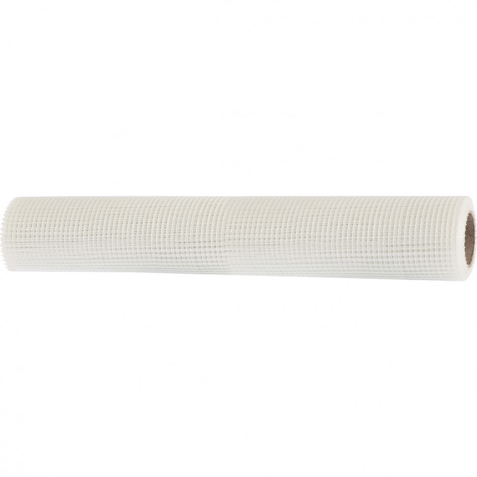 Сетка стеклотканевая штукатурная, размер ячеек 5 х 5 мм, 1000 мм х 10 м Matrix