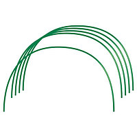 Парниковые дуги в ПВХ 0,85 х 0,9 м, 6 шт D проволоки 5 мм Россия