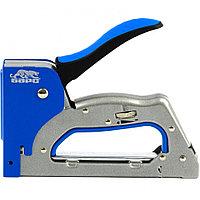 Степлер металлический, 3 в 1, регулятор удара, двухкомпонентная рукоятка, тип скобы: 53, 300, 500, 6-14 мм