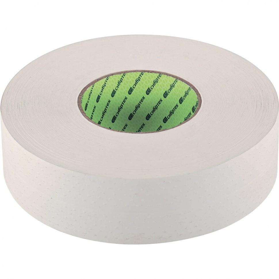 Лента углозащитная бумажная, 48 мм х 50 м Сибртех