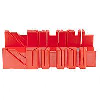 Стусло пластмассовое, 300 х 90 мм, 4 угла для запила Matrix
