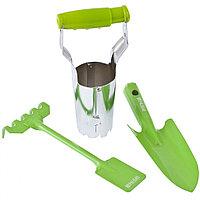 Набор садового инструмента, цельнометаллический, 3 предмета, Fresh Line Palisad