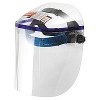 Щиток защитный, 425 х 220 мм, пластик, защита для лица, цельный корпус Matrix