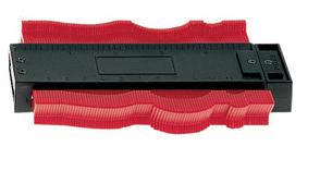 Шаблон профильный пластинчатый, часть *А*, 125*40 мм, для удлинения шаблонов *В*