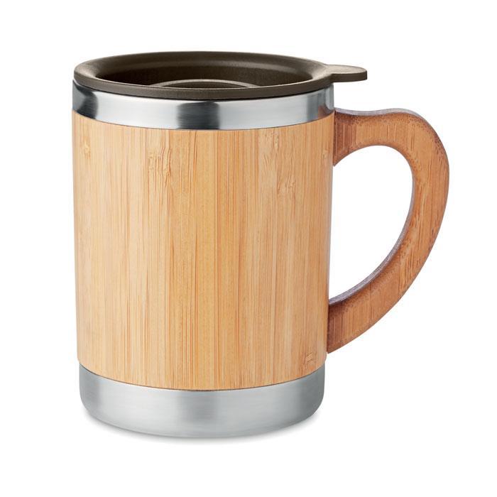 Термуокружка с бамбуком, MOKKA