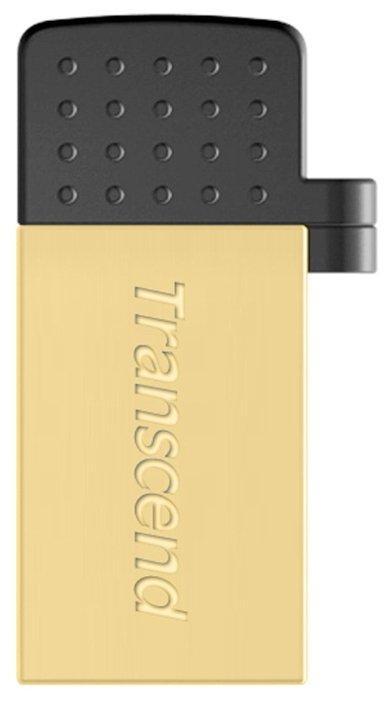 Transcend TS32GJF380G USB Флеш накопитель 32GB USB 2.0 цвет золото