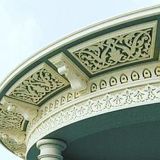 Декор. Фасадное обрамление из пенопласта, фото 3