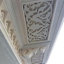 Декор. Фасадное обрамление из пенопласта
