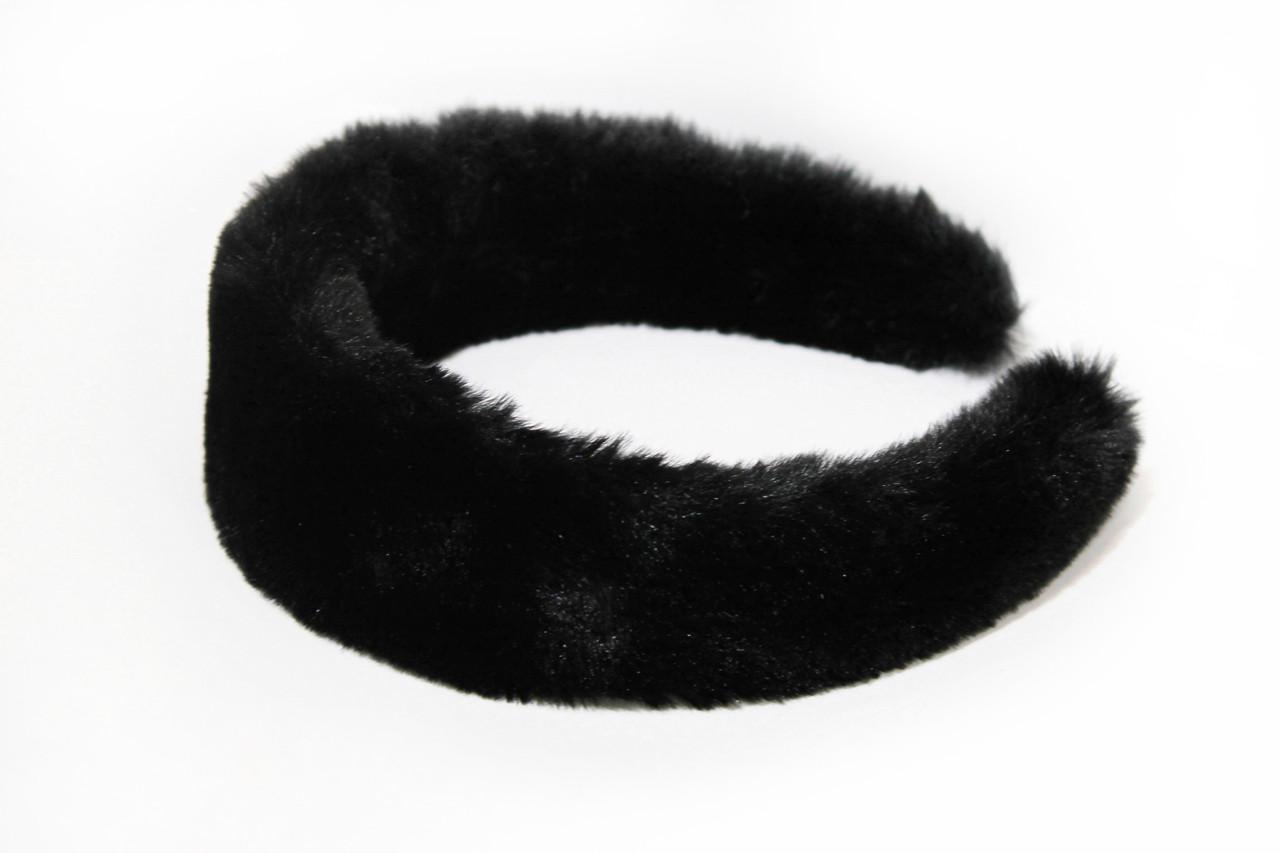 Ободки  Brosh Jewellery  Ручной работы (мех, черный)