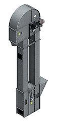 Нория вертикальная для погрузки зерна и сыпучих материалов НПЗ 50