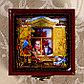 Шкатулка «Девочка в окне», 8х8 см, фото 3