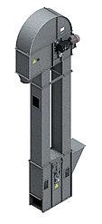 Нория вертикальная для погрузки зерна и сыпучих материалов НПЗ-50 4м