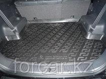 Коврик в багажник Chevrolet Captiva внедорожник (06-) (полимерный)