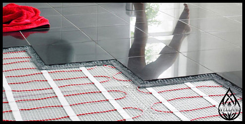 Современный электрический теплый пол: выбор и требования для установки.