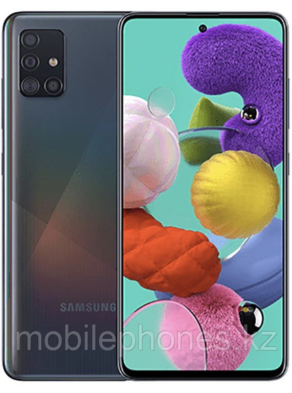 Смартфон Samsung Galaxy A51 128Gb Чёрный