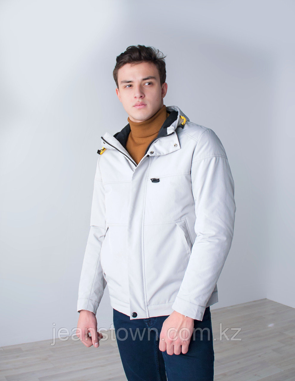 Куртка мужская демисезонная  Kings Wind  белая
