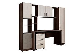 Комплект мебели для детской СК-7, Дуб Млечный, СВ Мебель(Россия)