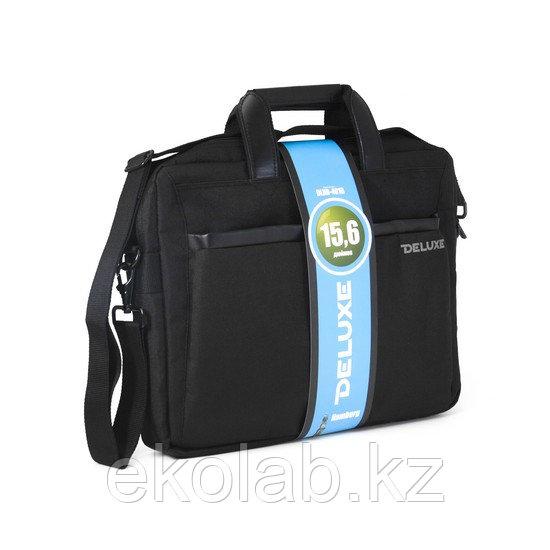 "Сумка для ноутбука Deluxe Hamburg 15.6"" (DLNB-401B-P)"