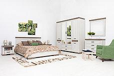 Кровать двуспальная Марсель, Ясень Снежный, БРВ Брест (Беларусь), фото 3
