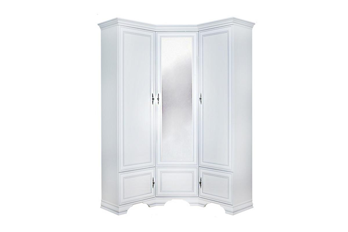 Шкаф для одежды 5Д , коллекции Кентаки, Белый Белый, БРВ Брест (Беларусь)