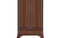 Шкаф для одежды 2Д , коллекции Кентаки, Каштан, БРВ Брест (Беларусь)