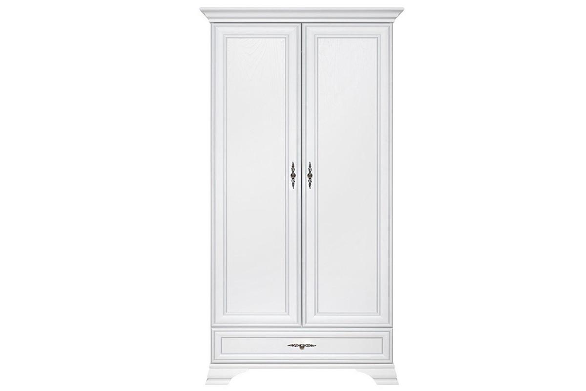 Шкаф для одежды 2Д , коллекции Кентаки, Белый, БРВ Брест (Беларусь)